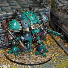 GMM's Compiled Completed Commission and Display Showcase (3/16 Adepticon Display Wip) - Page 5 - Forum - DakkaDakka | Wargamers do it on the tabletop. Imperial Knight, Scale Models, Display Showcase, Tabletop, Table, Scale Model, Countertop