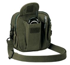 Rothco Venturer Excursion Organizer Bag - LOTS of pockets.  Cannot function without LOTS of pockets!