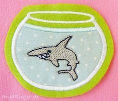 Fish on Friday #anja #embroidery #fish www.AnjaRiegerDesign.com