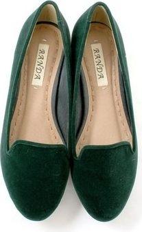 89838f81155 Green Ballet Flat Shoes