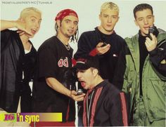 Man, did anyone else block stupid things like this out of their heads about 'Nsync? LOL