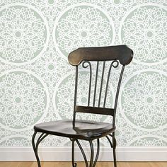 Charlotte-stencil-wall-pattern