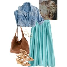 """""""Shopping w/my fav people"""" by modestly-styled on Polyvore"""