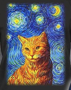 Arty cat