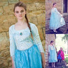 Adult Elsa Princess Deluxe Costume