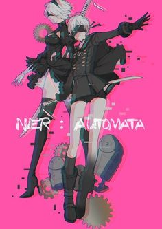 NieR: Automata ♥ 9s and 2b ♡ #PlayStation #Game #Yorha