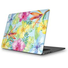 Tropical Daze MacBook Skin. Shop now at www.skinit.com #summer #tropical #macbook #laptop #macbookskin #laptopskin