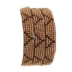 Amazon.com: Indian Costume Jewelry for Women Brown and Cream Wrap Around Bead Bracelet: Furniture & Decor
