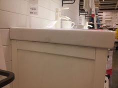 side view (again) Ikea Sinks, Side View, Vanity, Dressing Tables, Powder Room, Vanity Set, Single Vanities, Vanities, Dresser To Vanity