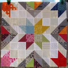 Star Value Quilt Block - 5 Sizes Options