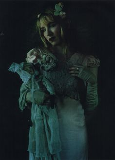 Dame Darcy and doll friend.
