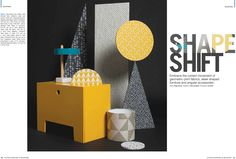 Erica Wakerly 'Tapet Cafe Tile' Fabric featured in Kitchens, Bedrooms & Bathrooms Magazine. Styling by @poppynorton
