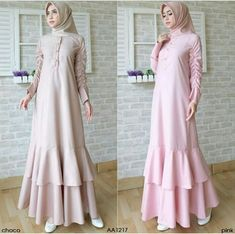 Check out trending dresses for Tesettür Modelleri 2020 Batik Fashion, Abaya Fashion, African Fashion Dresses, Fashion Outfits, Moslem Fashion, Modele Hijab, Muslim Dress, Islamic Fashion, Islamic Clothing