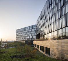 Nordea Bank | Henning Larsen #AdamMørk #Atrium #Concept #Concrete #Denmark #Glass #HenningLarsenArchitects #København #Nordea #stone #Ventilation