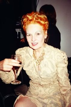 Vivienne Westwood - Her designs are notorious for having a classic, yet punk flare.