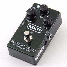 MXR Carbon Copy Delay Guitar Effects Pedal PD-7259