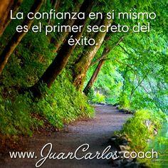 La confianza en si mismo es el primer secreto del éxito.