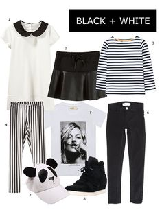 Monochrome Trend for kids