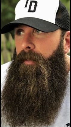 Grey Beards, Long Beards, Beard Styles For Men, Hair And Beard Styles, Diy Beard Oil, Goatee Styles, Beard Cuts, Beard Logo, Beard Growth Oil