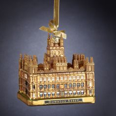 "4.25"" #DOWNTONABBEY #CASTLE GLASS #ORNAMENT ITEM # DA4138 #downtonabbeyornaments"