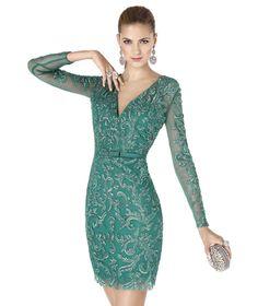 Pronovias te presenta su vestido de fiesta ADEMAR de la colección Fiesta 2015. | Pronovias