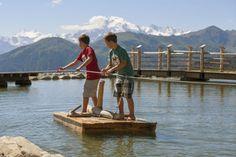 Il Viaggiatore Magazine - Il Lago dei Giochi - Val Venosta, Alto Adige
