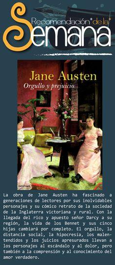 Orgullo y prejuicio, de Jane Austen. #LenteFilosofico #UCSG #ComunicacionSocial