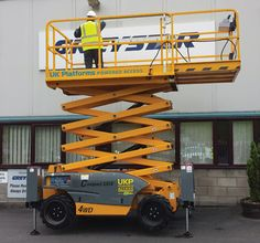 COMPACT 10DX SCISSOR 10.2M - Featuring 4 wheel driver and the ability to maneuver on gradients of up to 40% make it great on rough  #toolhire #equipmenthire #hss #hsshire #access #poweredaccess #scissorlift #scissorlifthire #scissorlifts
