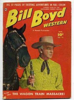 western paperback covers   Proxibid, Inc. Image 1 1951 Comic book, Bill Boyd Western # 12, nice ...