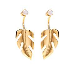 Stera Ear Jacket in Gold