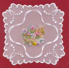 Eliza Art - hand made: Pergamano ,dentelle de papier, Parchment craft, lapin, bunny, Easter, Pâques. https://www.avecpassion.fr/29-pergamano-parchment-craft-dentelle-papier-parchemin