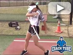 Watch as Coach Chris Malveaux explains and shows video clips of this hip rotation drill at the 2017 NFCA Convention. Softball Coach, Girls Softball, Softball Bats, Fastpitch Softball, Softball Stuff, Baseball Bats, Softball Equipment, Hitting Drills Softball, Softball Workouts