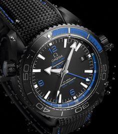Omega - Seamaster Planet Ocean GMT Deep Black, ref.215.92.46.22.01.002 - Self-winding, cal.Omega 8906, 3.5Hz, 60hr p.r., date, GMT - 45.5mm, ceramic case & bezel, black dial ~9.5k
