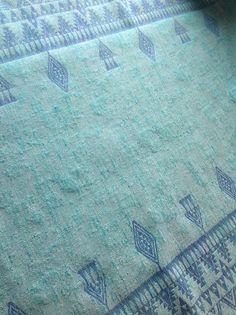 Lawilde Blue Lake Banjara Wrap (wool, linen)