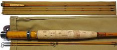 H.L.Leonard Rod Co. Bamboo Rod 37DF-4 6ft6in4wt 2P2T c.1979 (Maxwell Era) Crappie Fishing, Fishing Lures, Fishing Rods, Fly Fishing Equipment, Bamboo Fly Rod, What To Use, Rod And Reel, Fly Rods, Best Memories