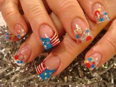 Excitement Cute Acrylic Nail Designs for New Year