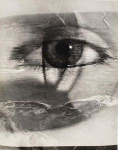 Maurice Tabard: Eye and beach montage 1949