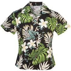 34 Best Ladies Hawaiian Blouses Shirts Tops Images Aloha Shirt