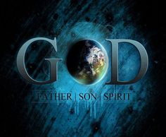 I believe in the trinity of God - Father, Son, Holy Spirit. ♥♥♥