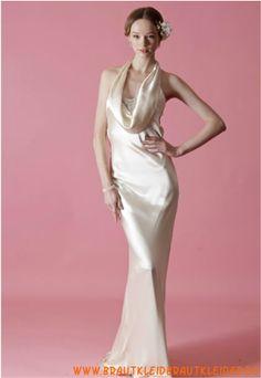 Sexy Brautkleid aus Satin im Meerjungfrauenstil rückenfrei 2013