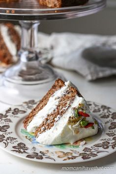 Low Carb Classic Carrot Cake | Mom, Can I Have That?