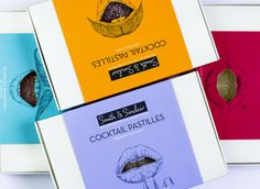 One for the adults, Smith & Sinclair's handmade cocktail-flavoured pastilles aim to replicate the experience of drinking a cocktail. Please eat responsibly! Alcoholic Cocktails, Harvey Nichols, Cardiff, Packaging Design, Drinking, Shop Now, Eat, Illustration, Handmade
