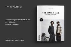 Magazine by BOXKAYU | TaylorAdams4Me on @creativemarket