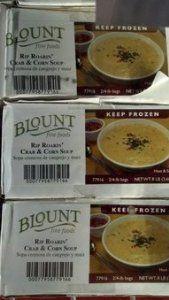 Blount: Rip Roarin' Crab & Corn Soup 2/4 Lb.