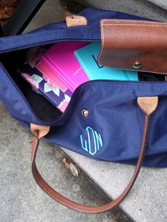 A couple more days to enter the monogrammed Longchamp giveaway! Are you in?