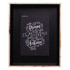 Living & Co Frame 21cm x 26cm Black