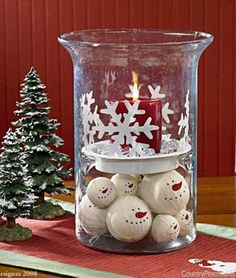Snowflake Candle Pan