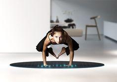 TERA - Il tappeto magico per il fitness. Un innovativo tappetino per il fitness che mira ad ispirare uno stile di vita sano attraverso un'esperienza nuova e coinvolgente .
