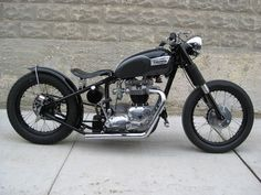 #triumph #bobber #motorcycles