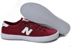 Women's New Balance V45RD Shoes Red White
